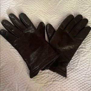 🌴3/$15 Thinsulate Leather Gloves-Size M